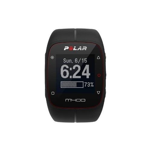 polar - gps del reloj m400 con el ritmo cardíaco - negro
