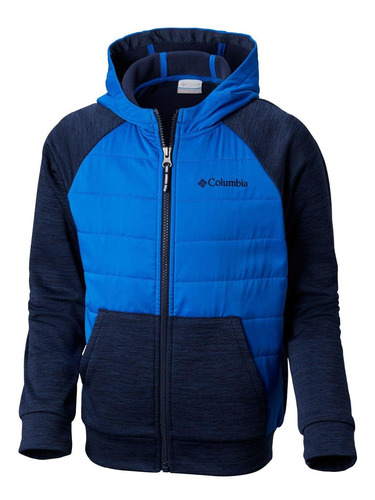 polar s'more adventure hybrid hoodie azul columbia