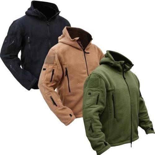 polar tactica militar de invierno chaqueta (online)