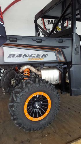 polaris ranger crew 900cc 2014 jala perfecto..