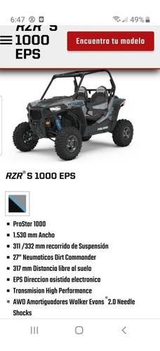 polaris rzr 1000 s eps 2020 new oferta