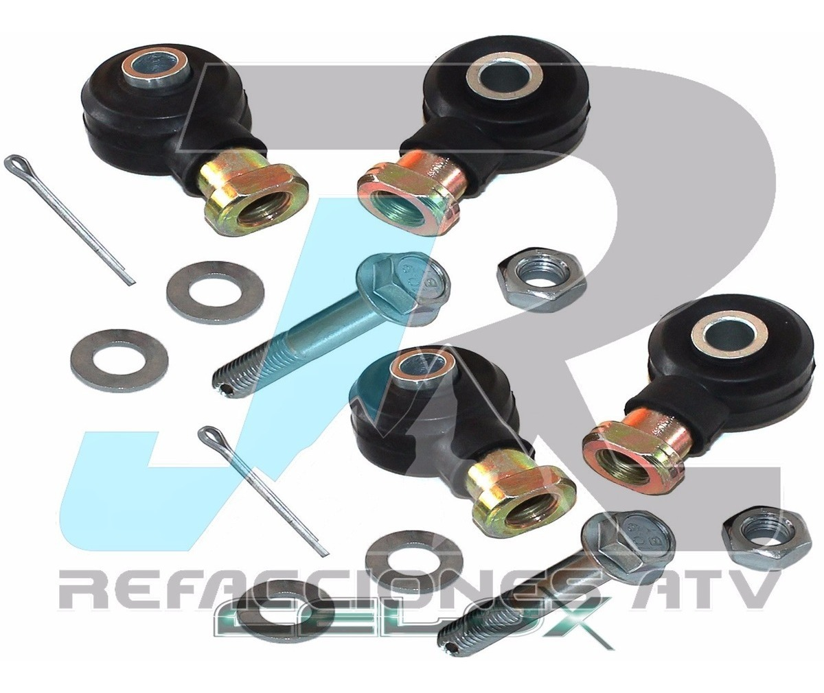 TIE ROD END KIT for POLARIS MAGNUM 425 2x4 4x4 1998 2 Sets