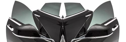 polarizado auto rollo 0.50 x 3mts lamina + espatula + cutter