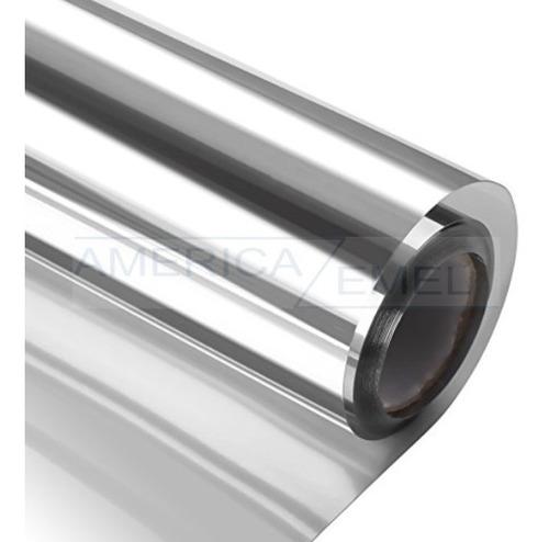 polarizado espejado plata 1,52 de ancho x metro lineal