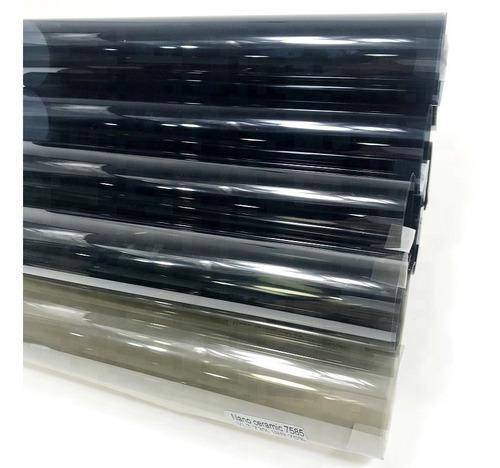 polarizado nano ceramica garantia original 5 metros largo