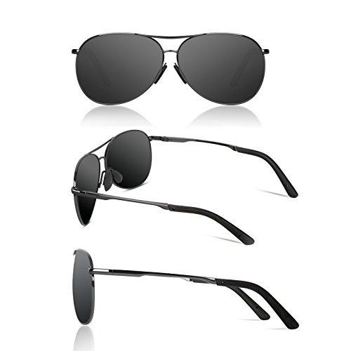 d545e54b0d39 Polarized Aviator Sunglasses For Men - Sunmeet Gafas De ...