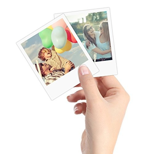 polaroid 3.5 x 4,25 pulgadas premium zink frontera de impres
