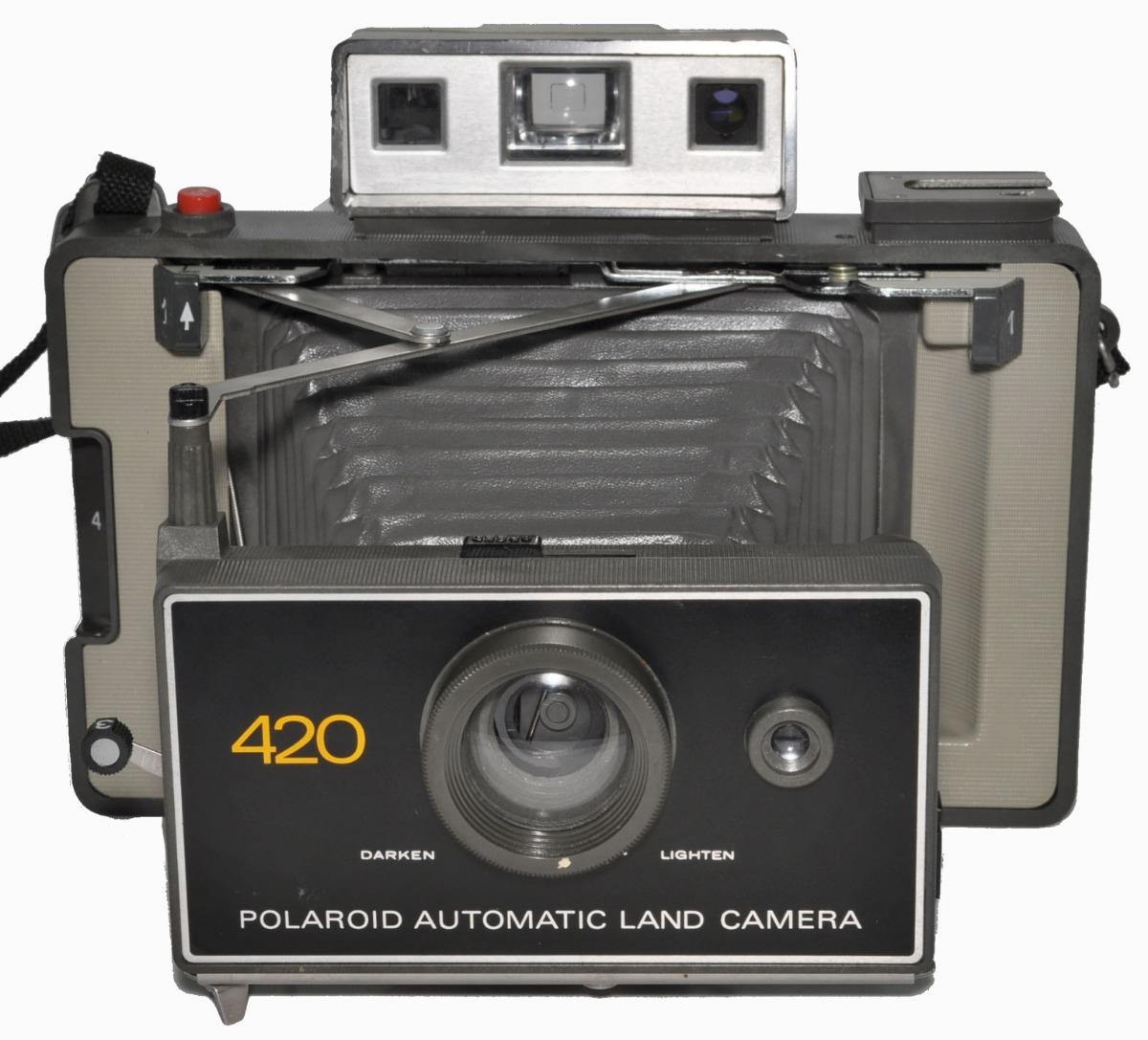 b56fcb4b34 polaroid 420. fuelle c/cartucho caducado y pila. buena. Cargando zoom.
