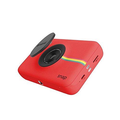 polaroid complemento instantánea de la cámara digital (rojo)