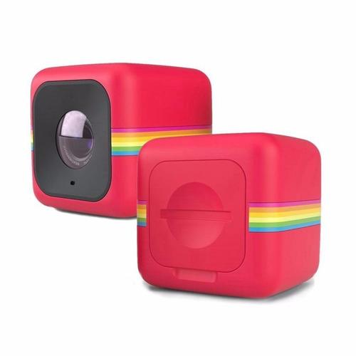 polaroid cube+ action camera wifi hd 1440p 8mp 8gb polcppr