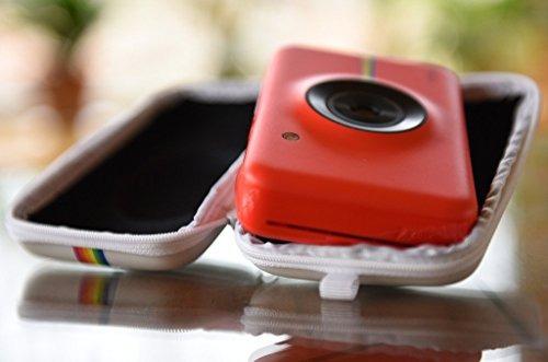polaroid eva estuche forro polaroid snap cámara instantánea