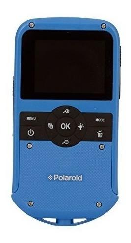 polaroid id610-blu videocámara digital para todo clima de 1.