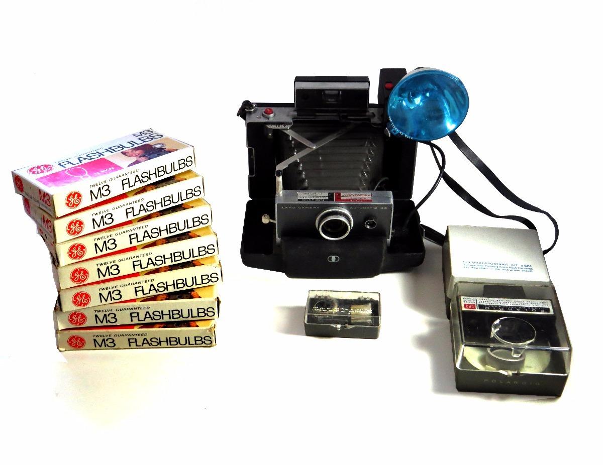Polaroid Land Camera 100 - Kit Completo - R  1.650,00 em Mercado Livre c181063f54