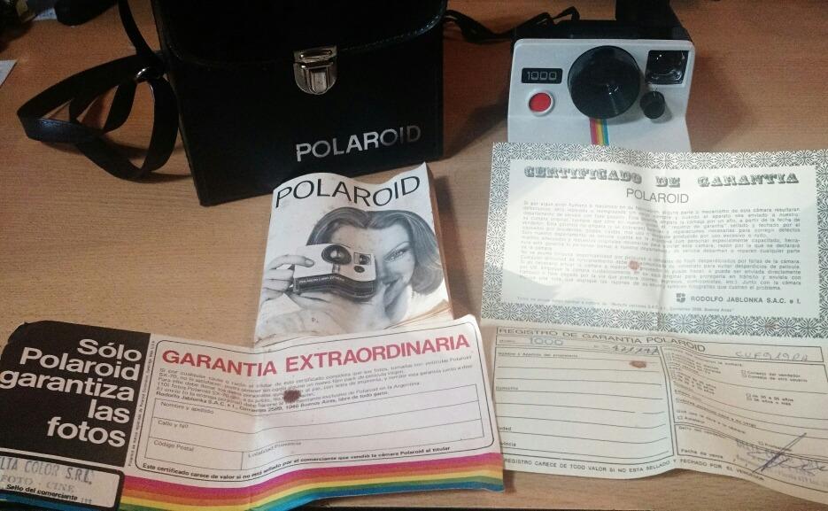 7aa593890eb1e polaroid land camera 1000 con estuche. Cargando zoom.