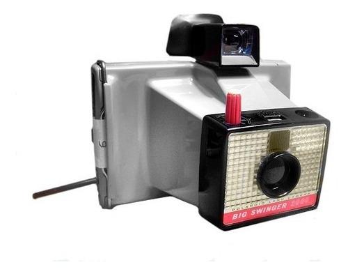 polaroid land camera big swinger 3000 +  estuche original