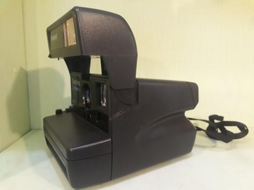 polaroid one step closr up camera fotográfica antiga