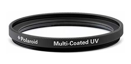 Polaroid óptica 52 mm Multi-Coated Filter protección UV