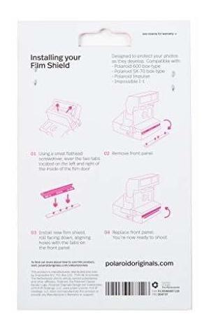polaroid originales 4737 película del protector de la caja t