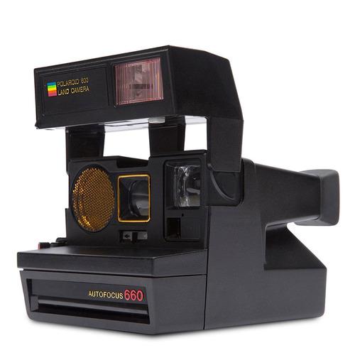 polaroid originals 4711 sun 660 autofocus camera black