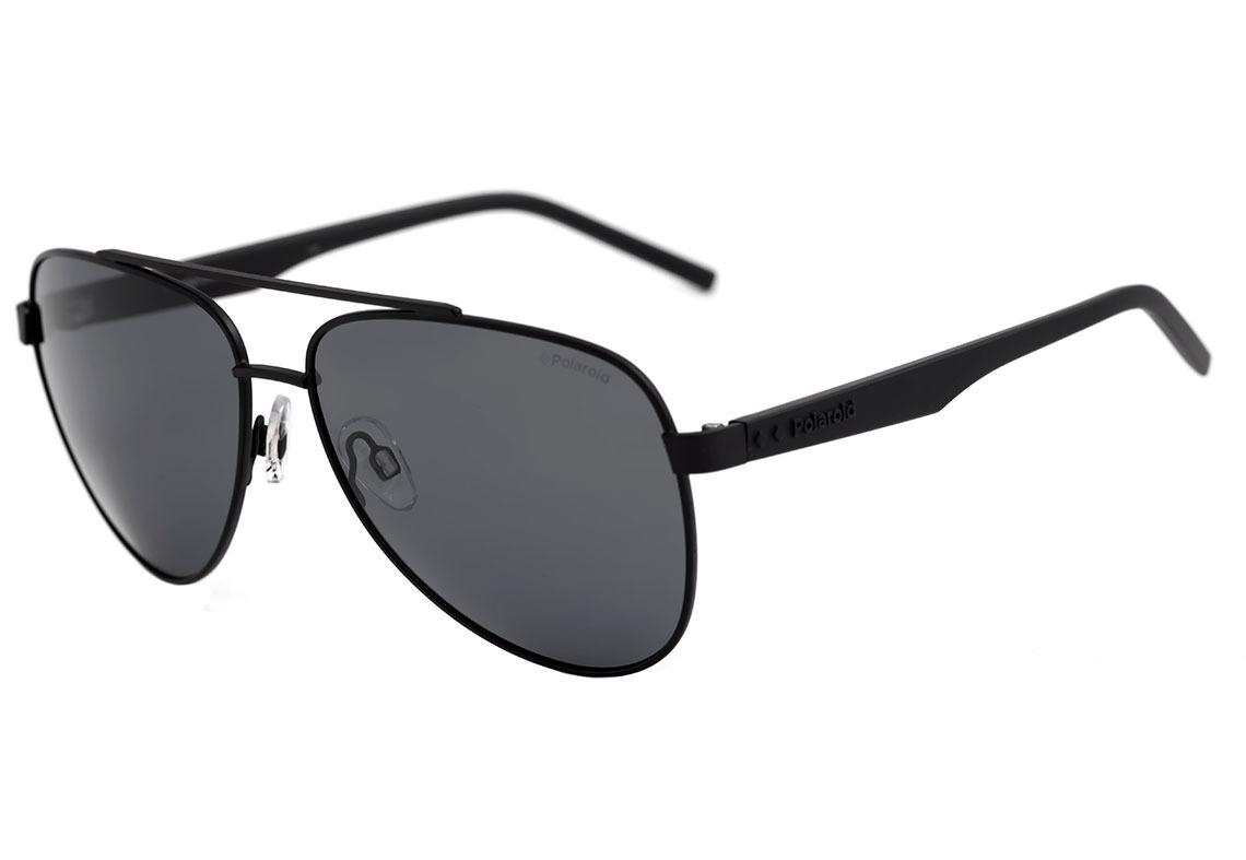 b51ecb955b22d polaroid pld 2043 s - óculos de sol 807 m9 preto brilho . Carregando zoom.