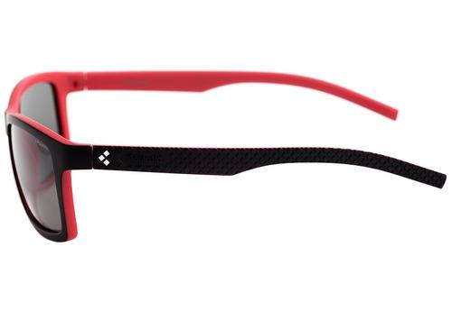 9fc0ac6f3 Polaroid Pld 7009 N - Óculos De Sol Vra Ah Preto E Vermelho - R$ 117 ...