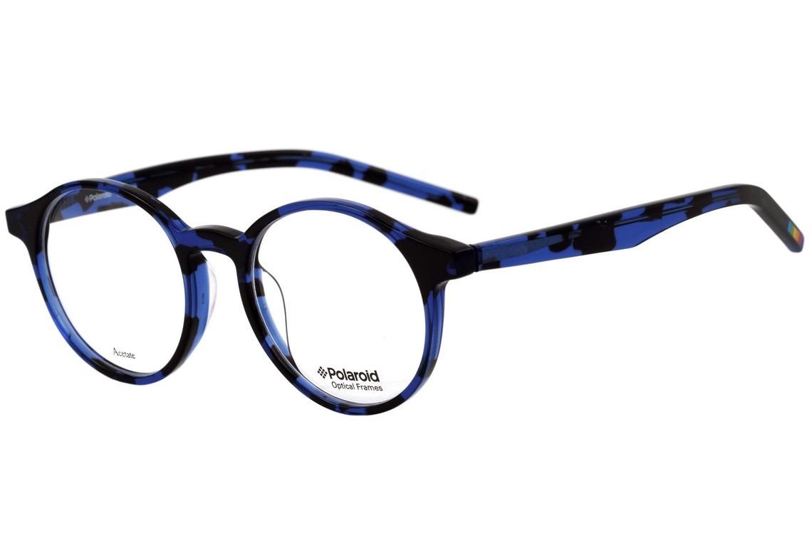 7ba029902 Polaroid Pld D300 - Óculos De Grau Vt0 Azul Mesclado Brilho - R$ 199 ...