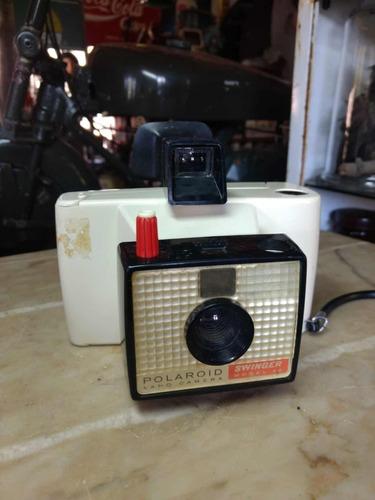 polaroid swinger antiga máquina câmera fotográfica