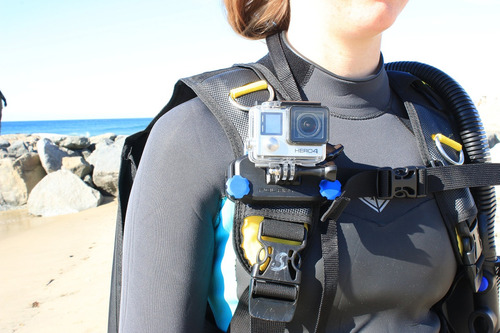 polarpro strapmount backpack - lifevest - scuba soporte para