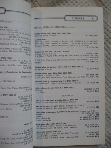 polcar 1984. catálogo general cbs masterworks
