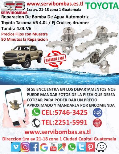 polea de ventilador toyota 4runner,pick-up,t100 guatemala