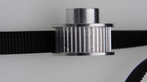 polea dentada 2gt 40 dientes para banda de 10mm varios ejes