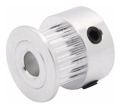 polea gt2 20 dientes aluminio impresora 3d eje 5mm