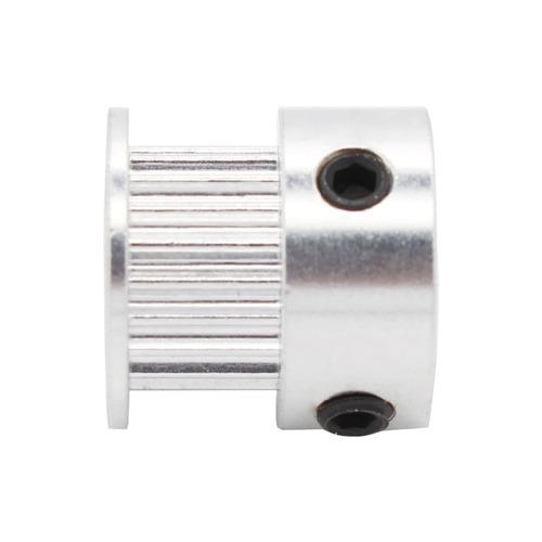 polea gt2 20 dientes aluminio impresora 3d reprap prusa i3
