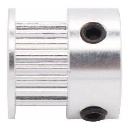 polea gt2 20 dientes eje 5mm aluminio impresora 3d