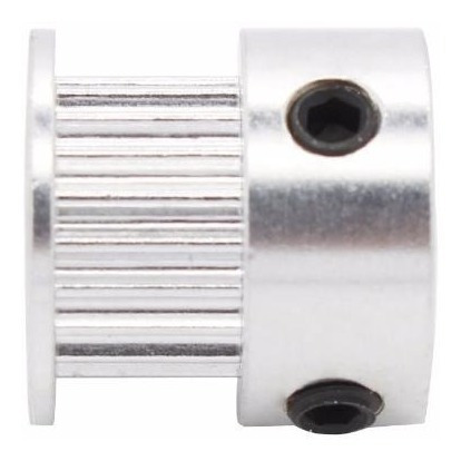 polea gt2 20 dientes eje 8mm aluminio impresora 3d