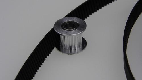 polea loca sincrónica para 10mm 20 dientes eje de balero 5mm