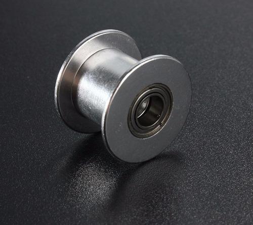 polea loca sincronica tensor liso banda 6mm 2gt eje 3mm 5mm