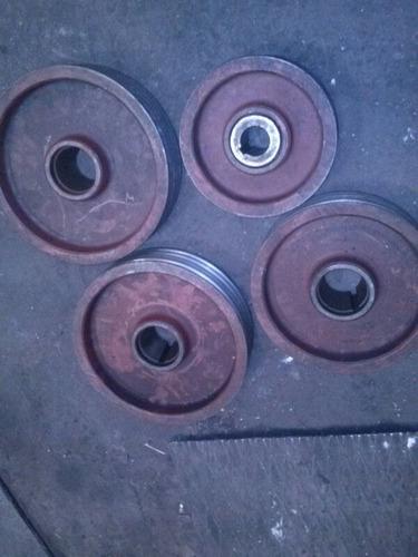 polea p/torno, compresor, agujereadora o fresadora