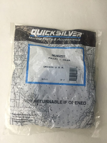 polea quicksilver para motor mercruiser