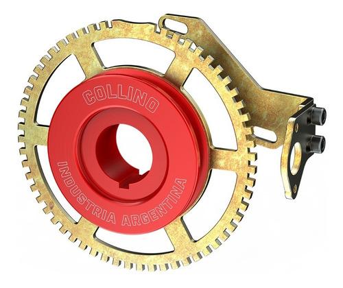polea rueda fonica 60-2 fiat 1 uno roja porta sensor c-shop