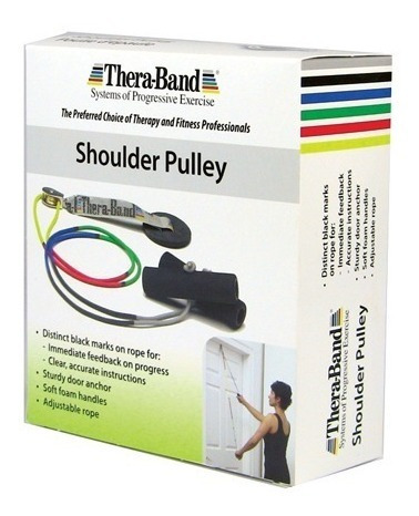 polea theraband para rehabilitación del hombro