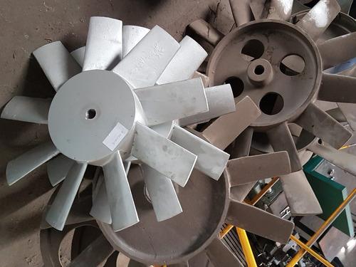 poleas - turbinas - paleta ventilador - valvulas