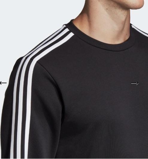 precio asombroso venta de liquidación estilo novedoso Polera adidas Essentials 3 Tiras Xl