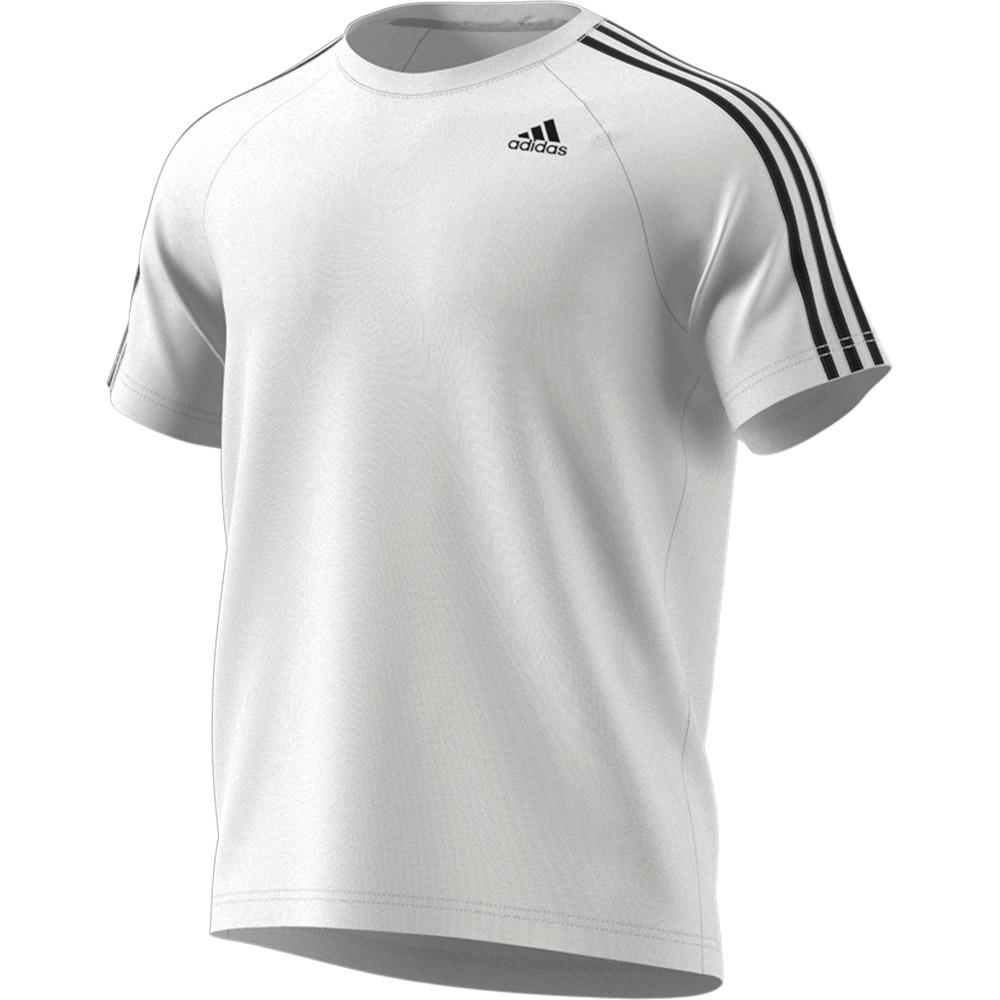 01f347379196b Polera adidas Hombre Training D2m 3 Tiras-1319 -   14.990 en Mercado ...