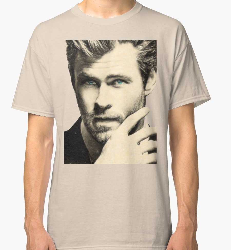 Polera Algodon Chris Hemsworth -   15.999 en Mercado Libre 8f2098a658d35