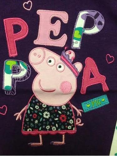polera algodón peppa pig