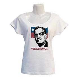 Polera Allende Venceremos - Escotada - Estallido Social
