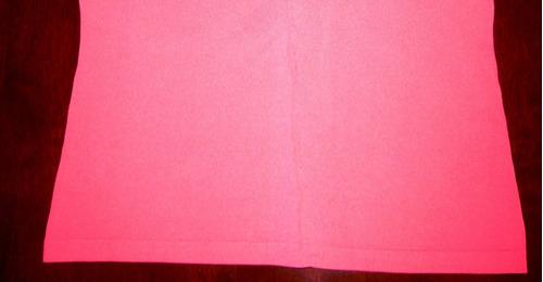 polera aziz rebajada talla m rosada semiformal escote en v