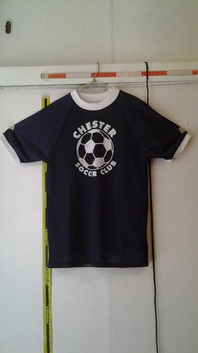 polera con motivo de football soccer (n° interno 60)