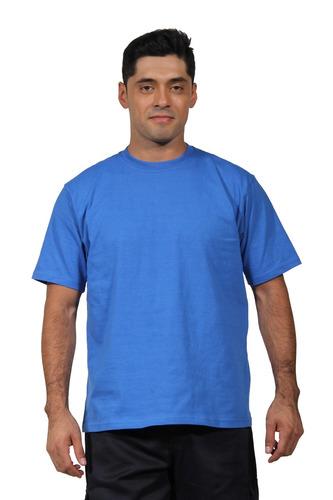 polera cuello polo m/corta 100% algodón, no encoge.